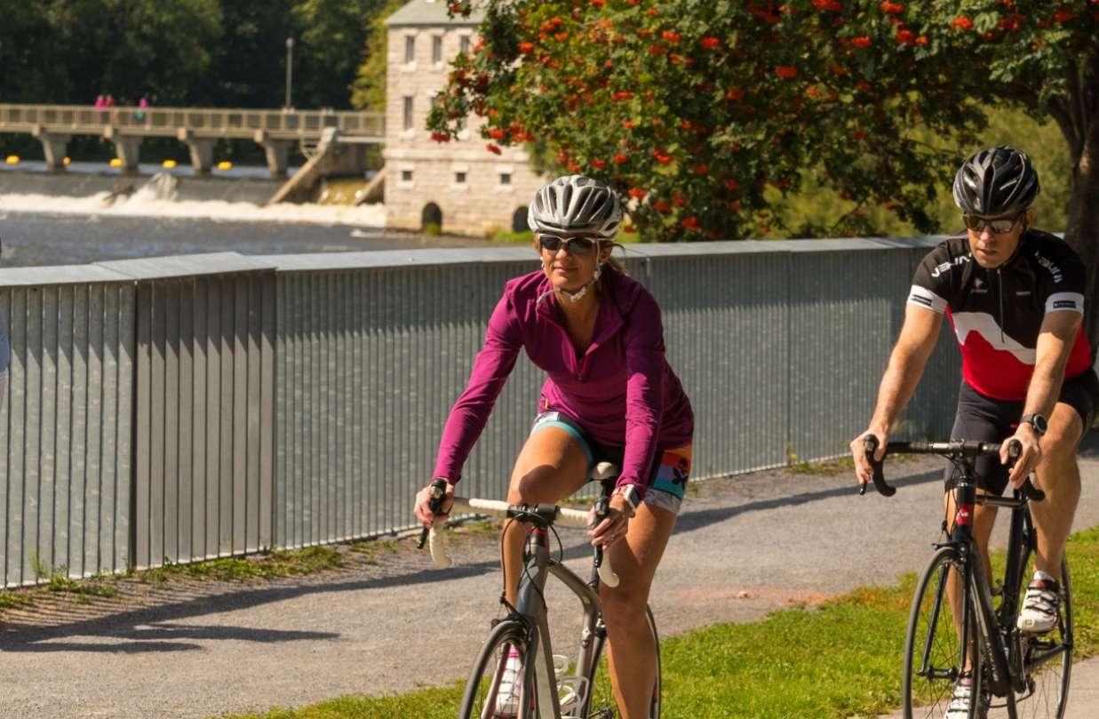 Le Vieux-Terrebonne à vélo